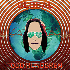 TODD RUNDGREN New Sealed Ltd Ed 2017 GLOBAL CD w BONUS LIVE CONCERT DVD