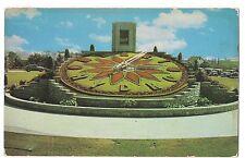 Sir Adam Beck Floral Clock Queenston Niagara Falls Canada Postcard