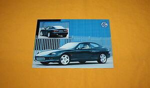 AC Aceca 1998 Postkarten Prospekt Postcard Brochure Catalogue