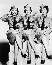"""The Andrews Sisters 10"""" x 8"""" Photograph no 3"""