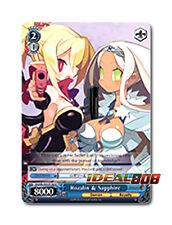 Weiss Schwarz Disgaea x 4 Rozalin & Sapphire [DG/EN-S03-E146 U] English
