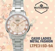 Casio Ladies' Standard Analog Watch LTPE315D-9A LTP-E315D-9A