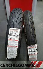 Coppia Gomme Scooter Bridgestone Sc1 Battlax 100/80 16 + 120/80 16 Yamaha Xenter
