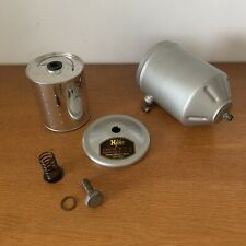 Porsche 356 912 Oil Filter Canister H-FILTER w/ New MANN Element A B C Engine