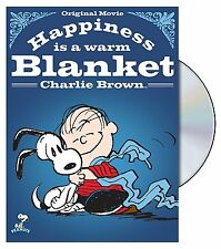 HAPPINESS IS A WARM BLANKET CHARLIE BROWN (WITH SLIPCOVER) - WS *NEW DVD*