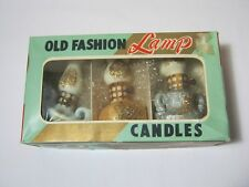 Old Fashion Lamp Candles Vintage with Box Japan  T*