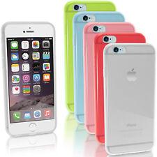 "Glossy TPU Gel Case Cover for Apple iPhone 6 & 6S 4.7"" Skin Bumper + Screen Prot"
