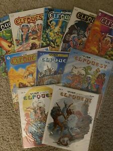 Elfquest Magazine Comics Complete Lot First Print 1978 Signed Pini NM/M #1 - #21