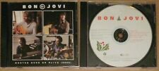 Bon Jovi Lot Promo Cds Left Feels Right Wanted Dead Alive Always Christmas live