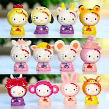 12pcs/set Cute Hello Kitty Constellation Figures Toy Collection Gift