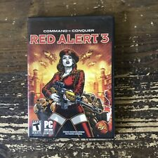 Command & Conquer: Red Alert 3 (PC, 2008) - w/ Poster and manual