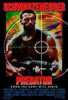 Predator Movie POSTER 27 x 40  Arnold Schwarzenegger, Carl Weathers, A