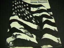 Roger Williams America The Beautiful original rare 1970 Promo Poster Ad mint