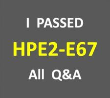 I Passed - 148-Q&A IT Business Conversations - Test HP2-E67 - HPE2-E67 Exam PDF