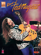 TED NUGENT GUITAR TAB / TABLATURE / *BRAND NEW* / BEST OF TED NUGENT / SONGBOOK