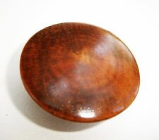 """""""Oyster Grain"""" Antique Hardware  Maple Knob Antique Wood Drawer Pull 1 1/2""""dia."""