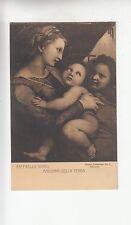BF18187 raffaello santi madonna della tenda painting  art front/back image