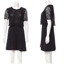 The Kooples Layered Lace Dress Size M Medium Black