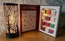 Aroma Lamp Wax Melt Burner Black Matte Tree Touch Sensitive Christmas Gift Set