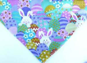 Easter eggs bandana over the collar Scarf - Dog Bandana