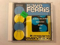 Save Ferris It Means Everything 1997 Sony CD Album