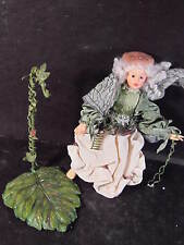 Boyds Faerie Whispers Willow Faerieflutter Fairy With Stand Nb