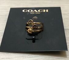 COACH PAC-MAN Ring Stack Set NWTs Ring Size 5 LIMITED EDITION So Cute!