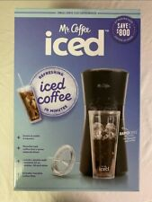 NEW! Mr. Coffee Iced Coffee Maker with Reusable Tumbler and Coffee Filter- Black