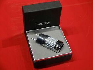 FURUTECH FI-E50 NCF(R) Cooper Rhodium-plated non-magnetic Schuko Power Connector