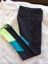 Lululemon 6 Trail Bound 7/8 Sz 6 Side Pockets Black Running Legging Pant