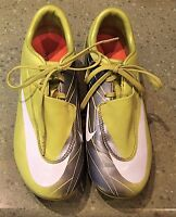 NIKE Mercurial Vapor VI FG SOCCER CLEATS/Football Boots Size 4YM Youth Med Green
