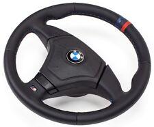 Leder Lenkrad Lederlenkrad BMW M3 E46 Steering Wheel mit Airbag  DREI STREIFEN