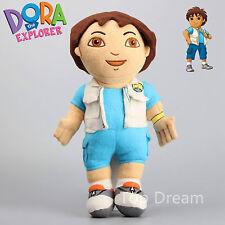 """LOVELY 15"""" Dora the Explorer Go Diego Go Boy Plush Soft Doll Toy 38CM Teddy Gift"""