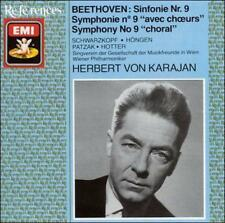 "Beethoven: Symphony No. 9 ""Choral"" 1988, EMI Music Distribution CD Disc Only D2"