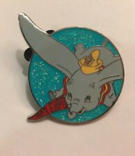 Disney Pin Dumbo D23 Expo Mystery Set Pennant Shopping Bag Timothy