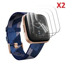 2 X For Fitbit Versa 2 Screen Protector Ultra Clear