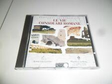 LE VIE CONSOLARI ROMANE CD-ROM PC 1999 NUOVO SIGILLATO ORIGINALE RARO