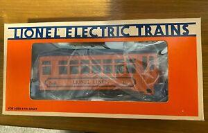 Lionel O Gauge Lionel Lines Trolley Passenger Car #6-8690 NIB
