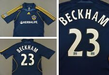 2007-08 ADIDAS LOS ANGELES LA Galaxy Away Shirt Beckham 23 MLS SIZE S (adults)