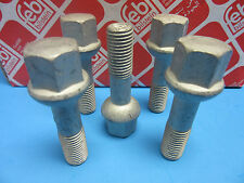 Set of 5 Wheel Stud Bolt F & R Replace Mercedes OEM# 0009904807 Made in Germany