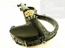 QUALITY ELECTRONIC VIOLIN 4/4 PRELUDE STRINGS+ FRANCE BRIDGE +FREE SHIPPING