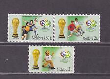 moldova 2006 world cup,set MNH yvert 477/9      l1586