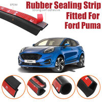 Car Seal Strip Kit Rubber Weather Draft Wind Noise Reduction For Ford Puma