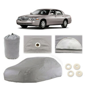 Lincoln Town Car L 6 Layer Car Cover Fit Outdoor Water Proof Rain Sun Dust Snow