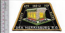 ATF Pennsylvania Harrisburg Regional Office Operation Tomba IRS, CID Lancaster C
