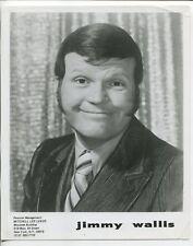 "Jimmy Wallis 8""x10"" Black and White Promotional Still Jimmy Wallis G"