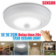 Ultra Bright Wireless Battery Powered Motion Sensor LED Ceiling Light Stair Lamp