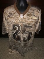 NFL Mens Eagles  #25 Lesean McCoy Camo Jersey Brown Size 52 NWT