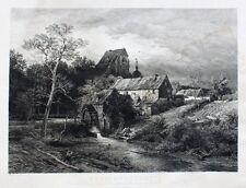 Andreas Achenbach Rhein Erft-Landschaft Forberg Mühle Mühlrad Bergheim Köln