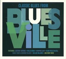 CLASSIC BLUES FROM BLUESVILLE - 3 CD BOX SET - VARIOUS ARTISTS